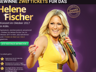 Helene Fischer Gewinnspiel