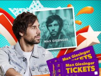 Max Giesinger Gewinnspiel